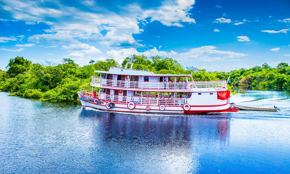Kreuzfahrt auf dem Amazonas