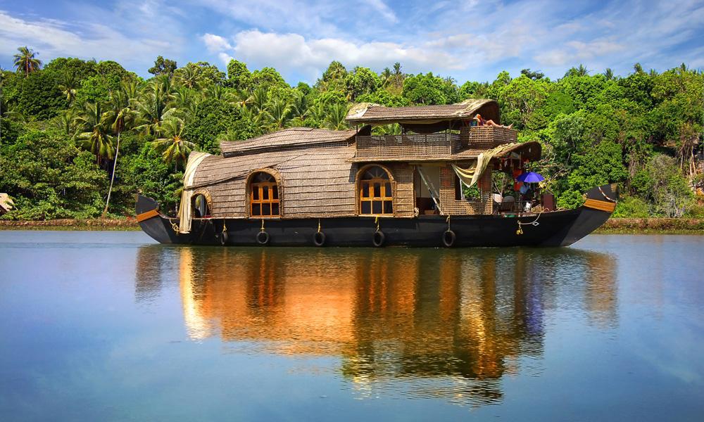 Kreuzfahrt mit einem Hausboot